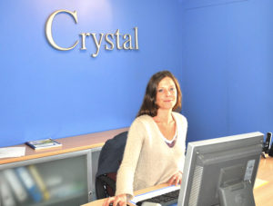Janina, Receptionist at Crystal Windows